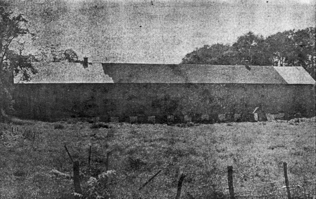 Old long barn intact pic