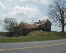 Old House on Route 177