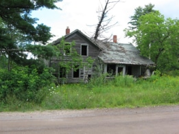 Old house, Bear Town Road