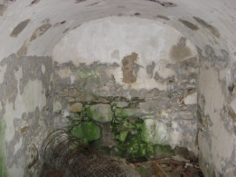 Maple Hill Cemetery Crypt, inside