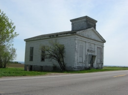Old church, Route 26 near Deer River/Denmark
