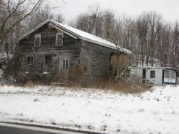 Old house, Route 37, a short distance from Pamelia Four Corners