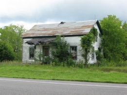 House, Route 3 near North Wilna