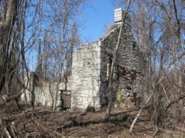Very old long-abandoned house off from Lockie Road, St. Lawrence County