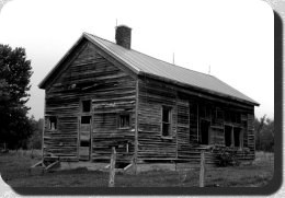 Old school house on the Third Road near Beaver Falls
